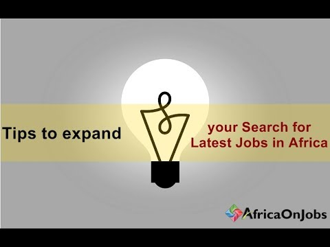 Latest Job In Africa | Africa On Jobs | AOJ