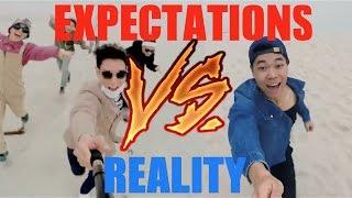 KPOP Expectations Vs. Reality