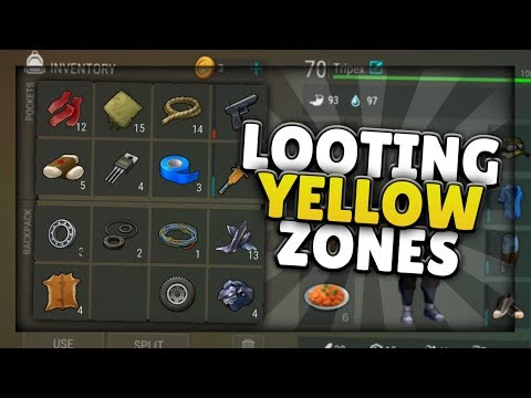 HOW TO FARM/LOOT IN YELLOW ZONES | Last Day On Earth: Survival