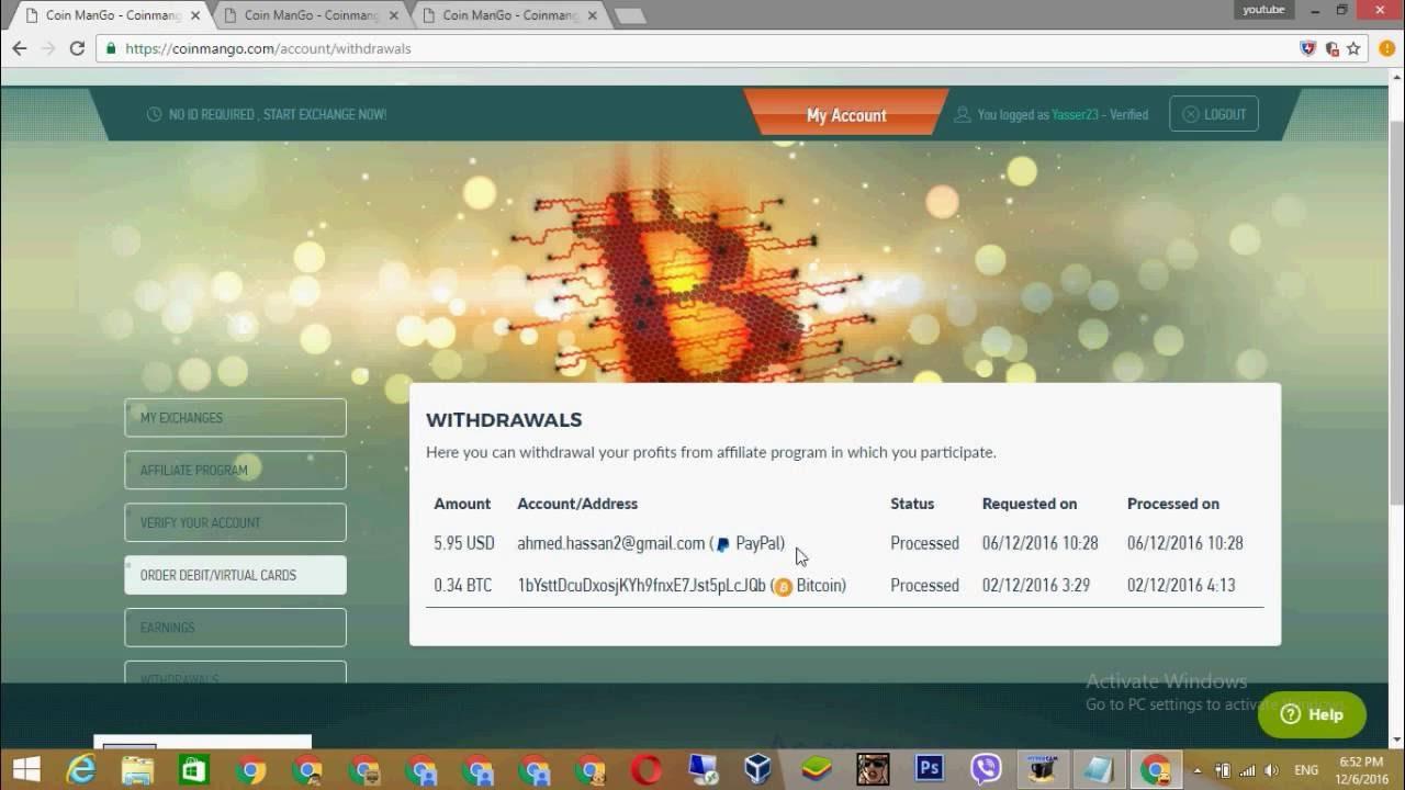 Free Bitcoin Debit Card Free 25 00 Credit Coinmango Exchange -