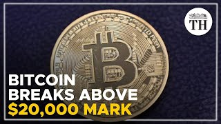 Bitcoin above $20,000 for first time