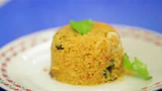 مطبخ شفيق - شلباطو فواكة بحر - Sea Food Cooked with wheat groats - Shafek kitchen