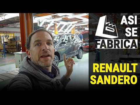 ASI SE FABRICA el RENAULT SANDERO 2019 | visitamos la Planta