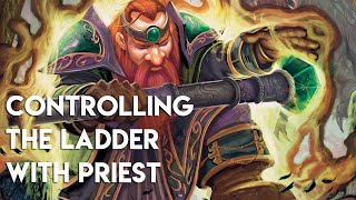 CONTROLLING THE LADDER WITH PRIEST | | POST NERF RASTAKHAN'S RUMBLE HEARTHSTONE