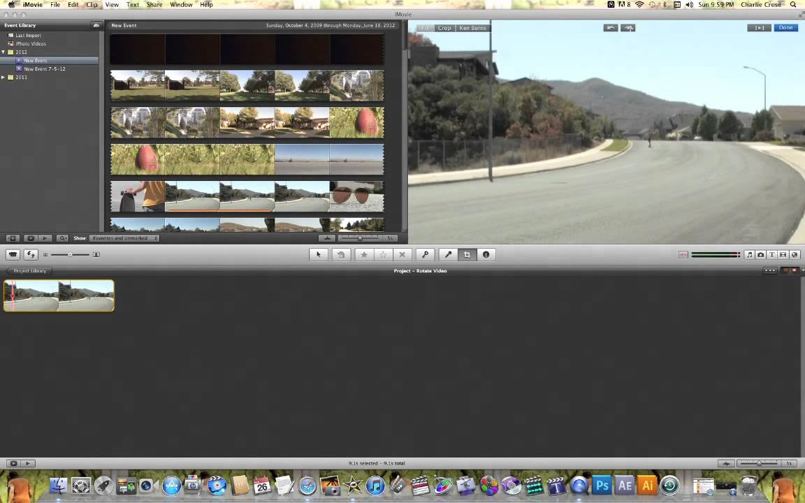 Imovie rotate video youtube imovie rotate video ccuart Gallery