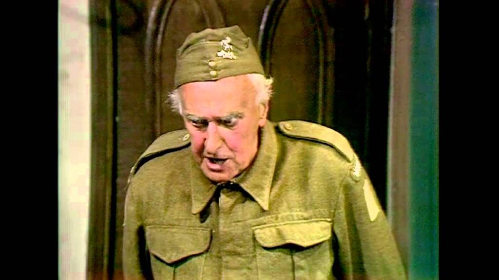 555c86e1 Fraser from Dad's Army - ahead of his time? - YouTube