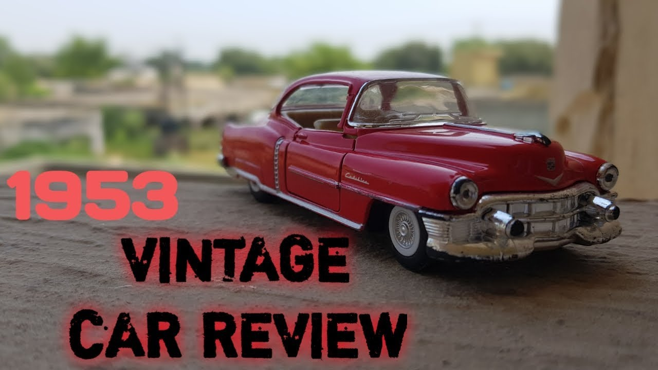 1953 Old Vintage car Review    Romaan Toy Review    Red car    Rayn Toy Review