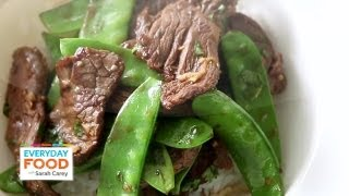 Beef and Snow Pea Stir-Fry | Everyday Food with Sarah Carey