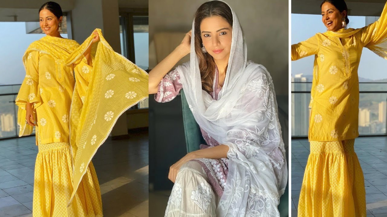 Aamna Sharif V/S Hina Khan |Who Looks Better In India Attire During Ramzan  - YouTube