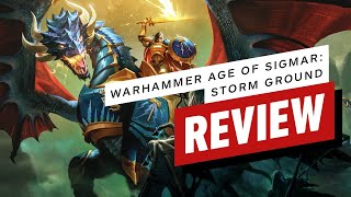 Warhammer Age of Sigmar: Storm Ground Review (Video Game Video Review)