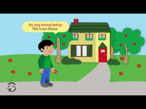 Learn Tagalog/Filipino Words For Things Inside The House