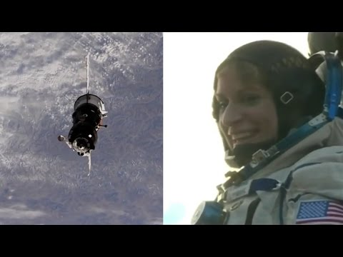 Kate Rubins returns to Earth! Soyuz MS-01 departure and landing highlights