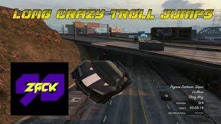 Long Crazy Jumps - Carreras - GTA ONLINE - ZACK90