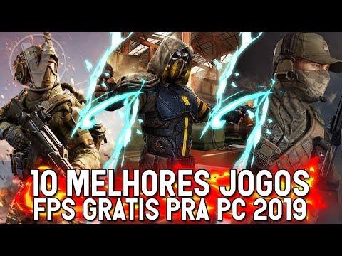 TOP 10 MELHORES JOGOS DE FPS GRATIS DA STEAM