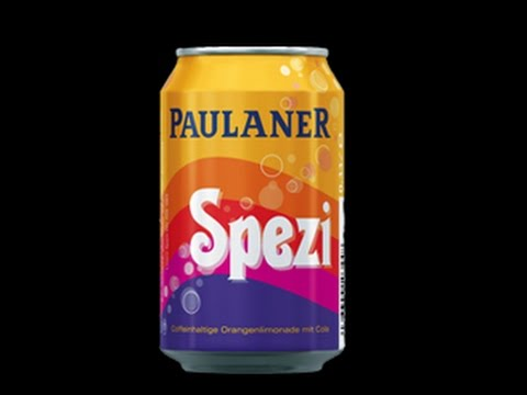 I TRY PAULANER SPEZI GERMAN ORANGE LEMON COLA ICH SCHMECKE SPEZI