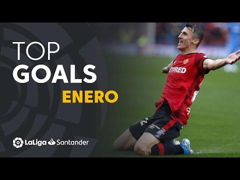 TOP Goles Enero LaLiga Santander 2019/2020