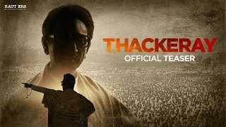#THACKERAYTheFilm Official Teaser (Hindi) | 23 Jan 2019