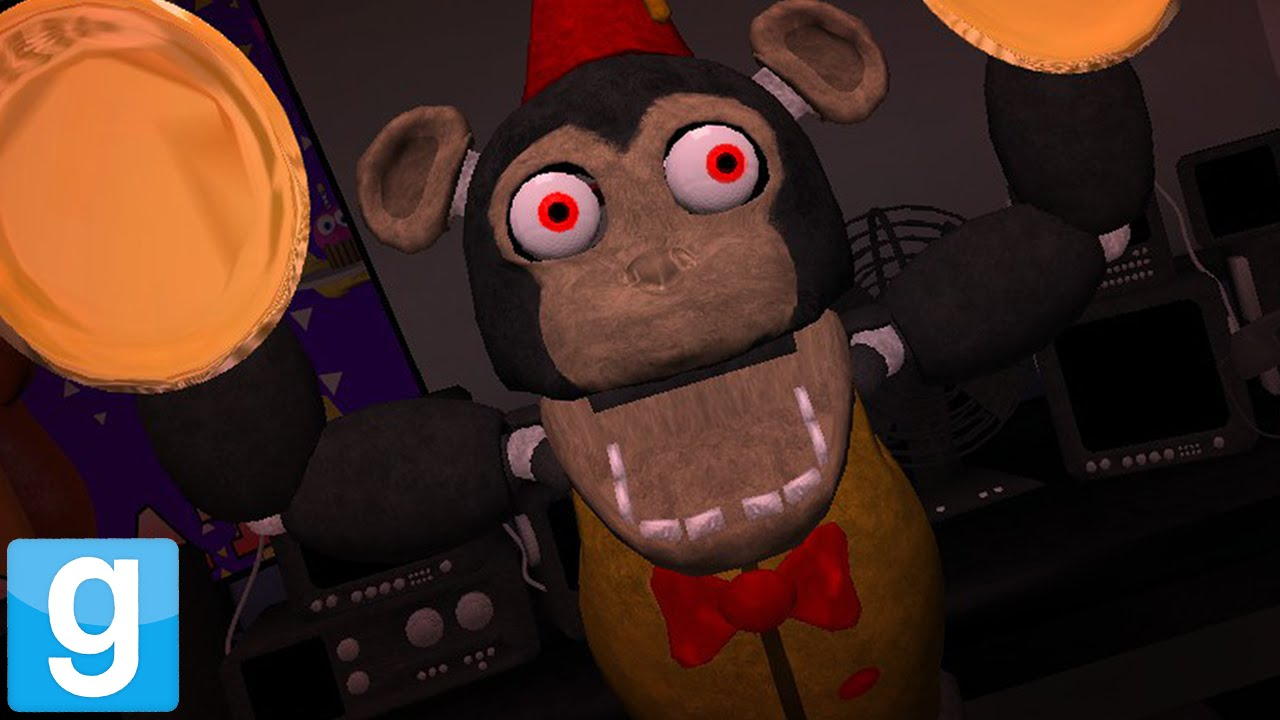 Most Secret Animatronic Ever Gmod Mango The Monkey New Five Nights At Freddy S Character Youtube