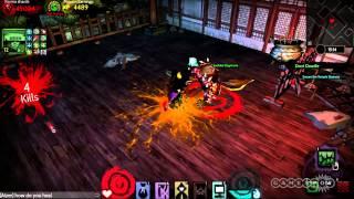 Sleepy Edgar Battle: Akaneiro: Demon Hunters Gameplay (PC)
