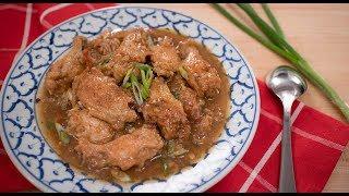Aunty Jenny's Braised Wings - Pai's Kitchen | Chinese Recipe ปีกไก่ตุ๋นซีอิ๊ว