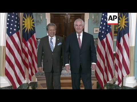 US Sec of State meets Malaysian FM