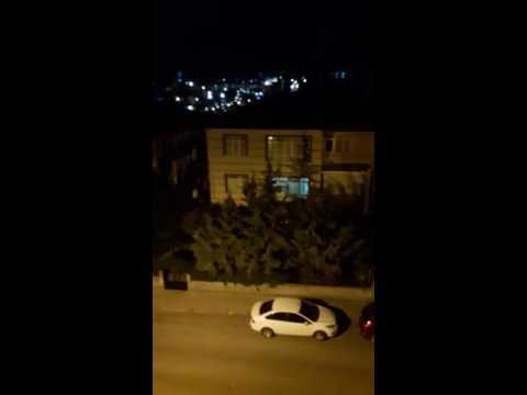 Ankara'da f16 lar ve sela. Keçiören