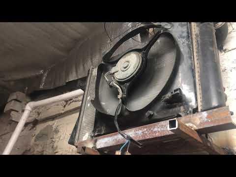 Печь для гаража своими руками!!! Водяное отопление в гараж.
