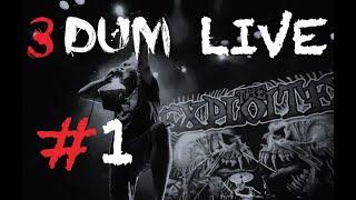 3DUM Live #1   Панк концерт на одной сцене с Exploited в Москве   Exploited punk stage @ Moscow