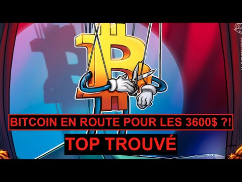 BITCOIN EN ROUTE POUR LES 3600$ – TOP TROUVÉ –  CRYPTO MILLION FR