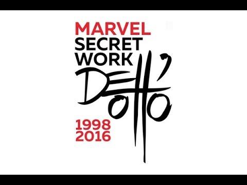 350 pages de merveilles : Gabriele dell'Otto Marvel Secret Work Artbook