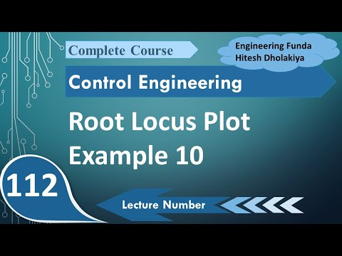 Root Locus Example 5 in Control Engineering by Engineering Funda, Control System Engineering Example