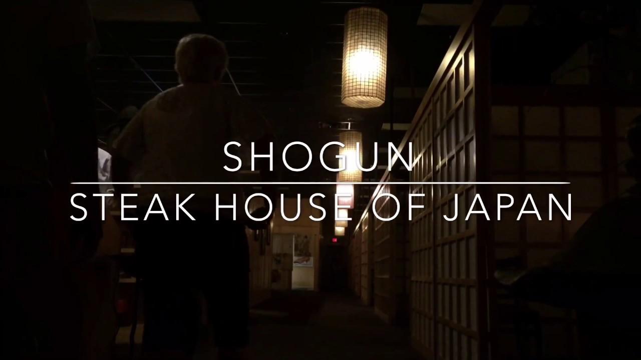 Shogun Steak House Of Japan Okc Restaurant Ambience Youtube