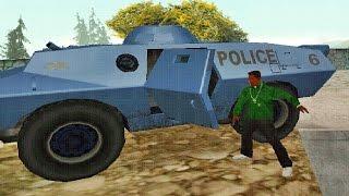 Como Pegar o Tanque da S.W.A.T no GTA San Andreas