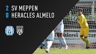 SV Meppen - Heracles Almelo 2-0 | 08-07-2018 | Samenvatting