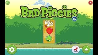 Bad Piggies. When Pigs Fly (Bonus level 9) 3 stars Прохождение от SAFa
