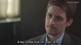 Edward Snowden - Entrevista The Guardian - (17/07/2014) - Legendada