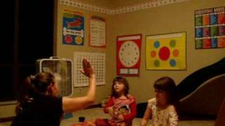 Autism raising hand training video