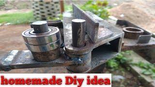 manual Steel bender   homemade metal bender Diy   