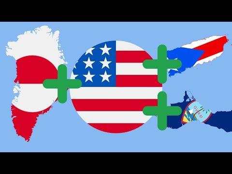 Какие земли присоединят США ? | 51 штат