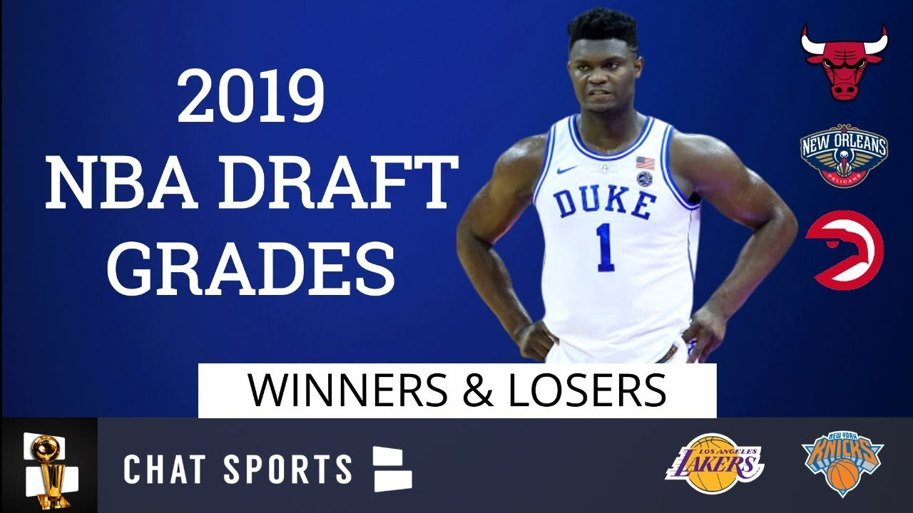 2019 NBA Draft grades, team-by-team picks: Hawks, Grizzlies, Pelicans, Spurs earn As, but Suns get a D