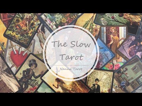 開箱  慢活塔羅牌 • The Slow Tarot // Nanna Tarot
