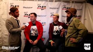 APMAs Blackstar Backstage Artist Lounge: New Found Glory interview