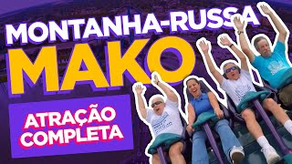 Mako - a nova montanha-russa do SeaWorld