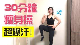 爆汗瘦身操!30分鐘快速瘦!居家運動減肥必備-新手也上手/1G