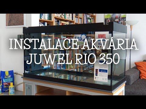 Instalace akvária JUWEL RIO 350