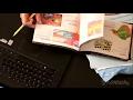 ASMR Sorting Paperwork | Shuffling paper, tearing, writing, keyboard typing (silent, no talking)