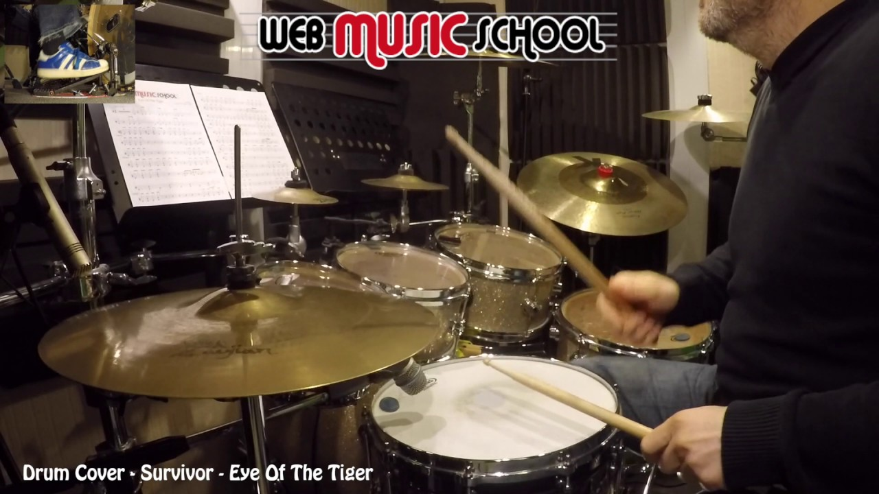 Survivor Eye Of The Tiger Drum Cover Youtube
