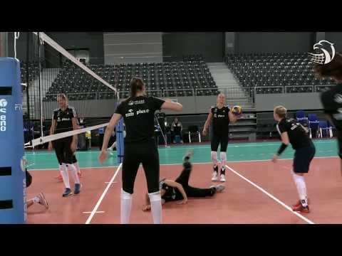 Ostatnie godziny przed wylotem do Baku na Mistrzostwa Europy Kobiet