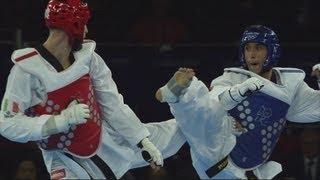 Taekwondo Men -80kg Bronze Medal - Afghanistan v Italy Full Replay - London 2012 Olympics