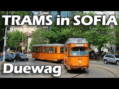 Sofia trams - Duewag